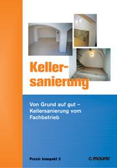 Kellersanierung Ausbau und Fassade - Historische Halle frisch saniert
