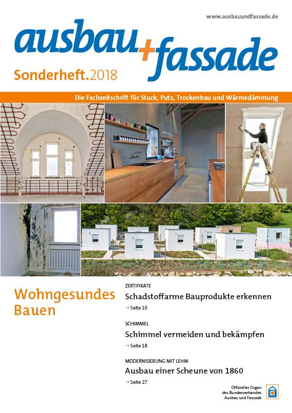 Titel_SH_af_2018_570px Ausbau und Fassade - Experimentierfeld privater Raum