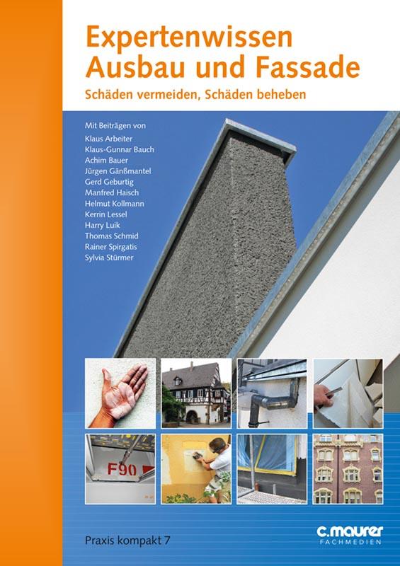 Umschlag_Expertenwissen Ausbau und Fassade - Kalkputze in der Denkmalpflege