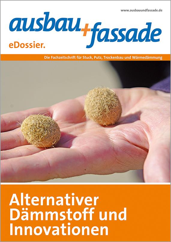 edossier_AlternativerDaemmstoff_800px Ausbau und Fassade - Merkblätter online: Ökologische Dämmstoffe