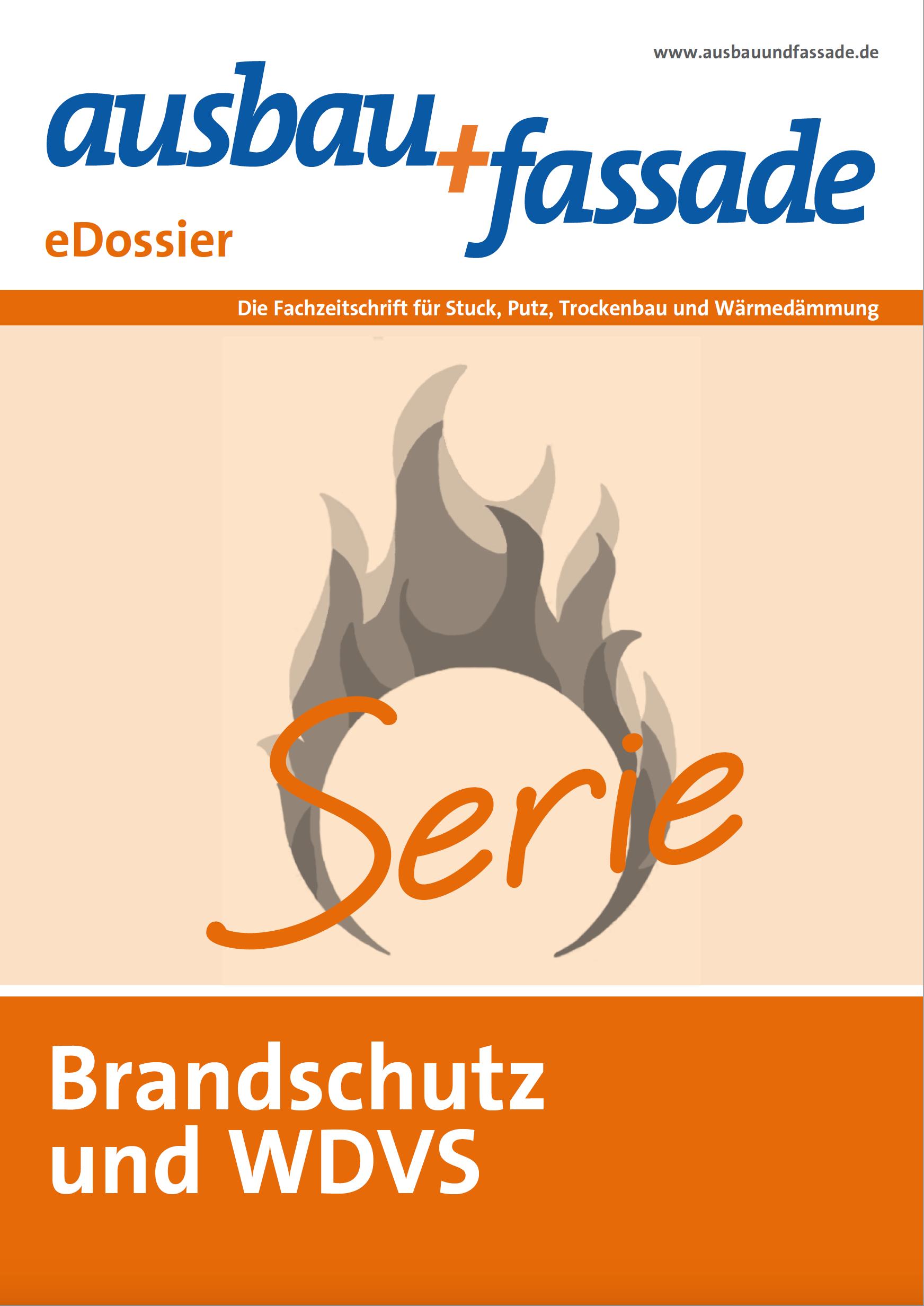 edossier_Brandschutz Ausbau und Fassade - Mineralwolle-Platten jetzt als Brandriegel im WDVS zugelassen